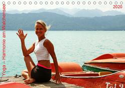 Yoga – Harmonie am Walchensee (Tischkalender 2020 DIN A5 quer) von Thiel,  Isabella