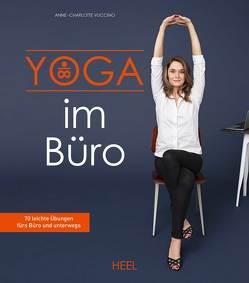Yoga im Büro von Vuccino,  Anne-Charlotte