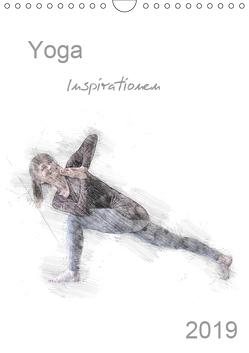 Yoga Inspirationen – Familienplaner (Wandkalender 2019 DIN A4 hoch) von Thiel,  Isabella