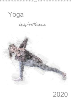 Yoga Inspirationen – Familienplaner (Wandkalender 2020 DIN A2 hoch) von Thiel,  Isabella