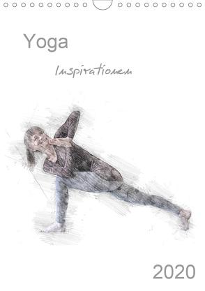 Yoga Inspirationen – Familienplaner (Wandkalender 2020 DIN A4 hoch) von Thiel,  Isabella