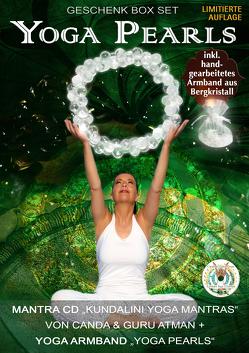 """Yoga Pearls Geschenk Box mit Mantra CD """"Kundalini Yoga Mantras"""" + Yoga Armband """"Yoga Pearls"""""""
