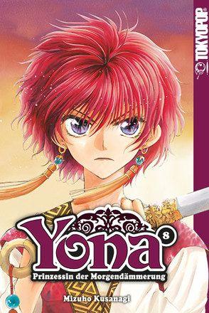 Yona – Prinzessin der Morgendämmerung 08 von Kusanagi,  Mizuho