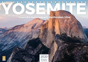 Yosemite – Nationalpark (Tischkalender 2020 DIN A5 quer) von Lederer,  Benjamin