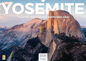 Yosemite – Nationalpark (Wandkalender 2020 DIN A3 quer) von Lederer,  Benjamin