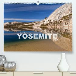 Yosemite – USA (Premium, hochwertiger DIN A2 Wandkalender 2021, Kunstdruck in Hochglanz) von Schickert,  Peter