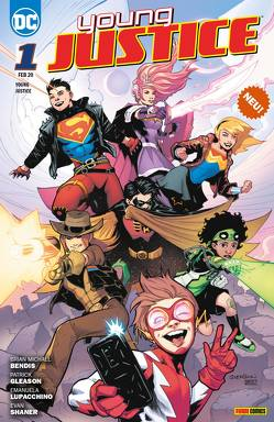 Young Justice von Bendis,  Brian Michael, Gleason,  Patrick, Lupacchino,  Emanuela, Timms,  John