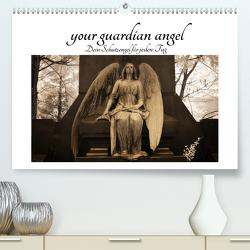 your guardian angel – Dein Schutzengel für jeden Tag (Premium, hochwertiger DIN A2 Wandkalender 2020, Kunstdruck in Hochglanz) von Buchmann,  Oliver