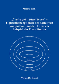 """You've got a friend in me"" – Figurenkonzeptionen des narrativen computeranimierten Films am Beispiel der Pixar-Studios von Wahl,  Marina"