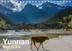 Yunnan – Magische Orte (Tischkalender 2019 DIN A5 quer) von Michelis,  Jakob