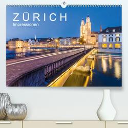 Z Ü R I C H Impressionen (Premium, hochwertiger DIN A2 Wandkalender 2020, Kunstdruck in Hochglanz) von Dieterich,  Werner