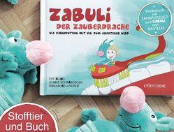 ZABULI-DER ZAUBERDRACHE / ZABULI – DER ZAUBERDRACHE (BILDERBUCH + STOFFTIER) von Kellnereit,  Miriam, Kling,  Eve M, Schraberger,  Ulrike