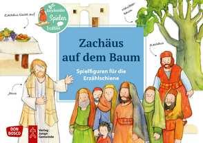 Zachäus auf dem Baum. Spielfiguren für die Erzählschiene. von Lefin,  Petra