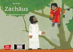 Zachäus. Kamishibai Bildkartenset von de Kort,  Kees
