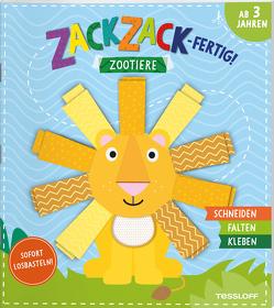 Zack, zack – fertig! Zootiere von Schmidt,  Sandra