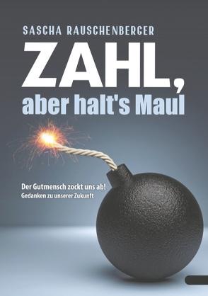 Zahl, aber halt's Maul von Rauschenberger,  Sascha