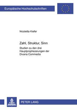Zahl, Struktur, Sinn von Kiefer,  Nicoletta