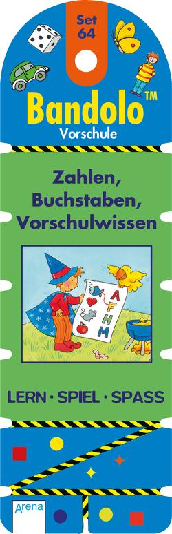 Zahlen, Buchstaben, Vorschulwissen von Barnhusen,  Friederike, Johannsen,  Bianca