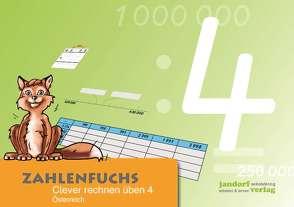 Zahlenfuchs 4 – Ausgabe Österreich von Auras,  Thomas, Wachendorf,  Peter