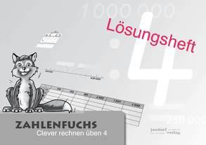 Zahlenfuchs 4 (Lösungsheft) von Auras,  Thomas, Debbrecht,  Jan, Wachendorf,  Peter