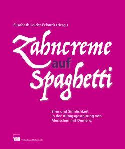 Zahncreme auf Spaghetti von Leicht-Eckardt,  Elisabeth