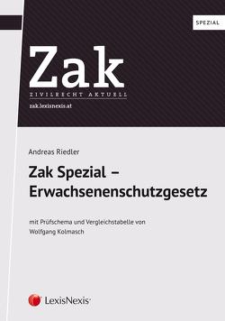 Zak Spezial: Erwachsenenschutzgesetz von Riedler,  Andreas