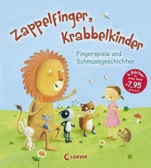 Zappelfinger, Krabbelkinder von Grimm,  Sandra, Rachner,  Marina, Roth,  Sarah, Schuld,  Kerstin M., Wittenburg,  Christiane