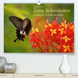 Zarte Schönheiten Exotische Schmetterlinge (Premium, hochwertiger DIN A2 Wandkalender 2021, Kunstdruck in Hochglanz) von Schumann,  Bianca
