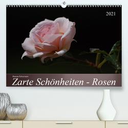 Zarte Schönheiten – Rosen (Premium, hochwertiger DIN A2 Wandkalender 2021, Kunstdruck in Hochglanz) von Schumann,  Bianca