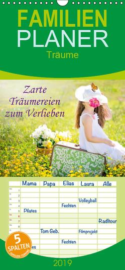 Zarte Träumereien zum Verlieben – Familienplaner hoch (Wandkalender 2019 , 21 cm x 45 cm, hoch) von Roder,  Peter