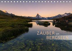Zauber der Bergseen (Tischkalender 2019 DIN A5 quer) von Dreher,  Christiane