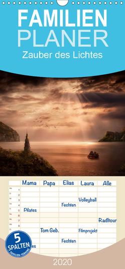 Zauber des Lichtes – Familienplaner hoch (Wandkalender 2020 , 21 cm x 45 cm, hoch) von Wunderlich,  Simone