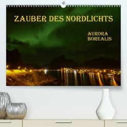 Zauber des Nordlichts – Aurora borealis (Premium, hochwertiger DIN A2 Wandkalender 2021, Kunstdruck in Hochglanz) von GUGIGEI