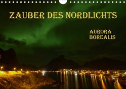 Zauber des Nordlichts – Aurora borealis (Wandkalender 2020 DIN A4 quer) von GUGIGEI