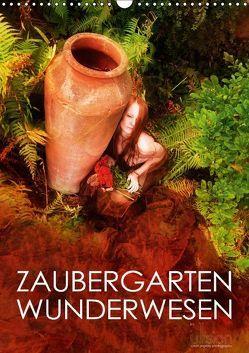 ZAUBERGARTEN WUNDERWESEN (Wandkalender 2018 DIN A3 hoch) von Allgaier (ullision),  Ulrich