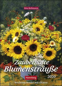 Zauberhafte Blumensträuße Kalender 2020 von Bellmann,  Rita, Harenberg