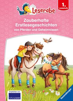 Zauberhafte Erstlesegeschichten von Pferden und Geheimnissen von Ginsbach,  Julia, Lenz,  Martin, Mai,  Manfred, Neudert,  Cee, Zöller,  Markus