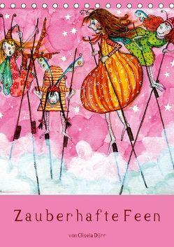 Zauberhafte Feen (Tischkalender 2018 DIN A5 hoch) von Dürr,  dieKLEINERT.de/Gisela