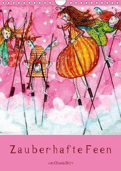 Zauberhafte Feen (Wandkalender 2018 DIN A4 hoch) von Dürr,  dieKLEINERT.de/Gisela