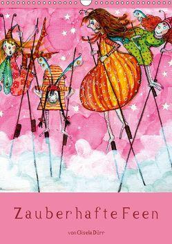 Zauberhafte Feen (Wandkalender 2019 DIN A3 hoch) von Dürr,  dieKLEINERT.de/Gisela