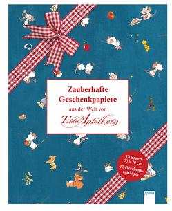 Zauberhafte Geschenkpapiere aus der Welt von Tilda Apfelkern von Schmachtl,  Andreas H.