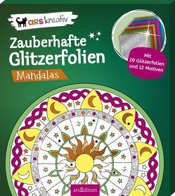 Zauberhafte Glitzerfolien Mandalas von Glatzel-Poch,  Helge