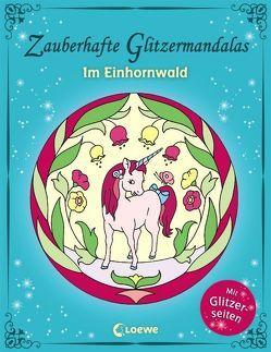 Zauberhafte Glitzermandalas: Im Einhornwald von Labuch,  Kristin