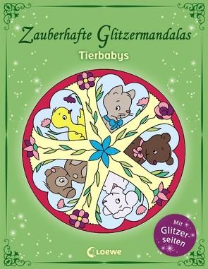 Zauberhafte Glitzermandalas: Tierbabys von Labuch,  Kristin