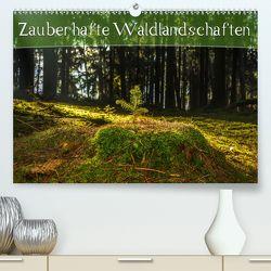 Zauberhafte Waldlandschaften (Premium, hochwertiger DIN A2 Wandkalender 2020, Kunstdruck in Hochglanz) von Wenk,  Marcel