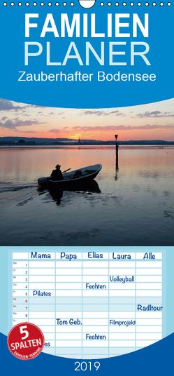 Zauberhafter Bodensee – Familienplaner hoch (Wandkalender 2019 , 21 cm x 45 cm, hoch) von Horn,  Christine