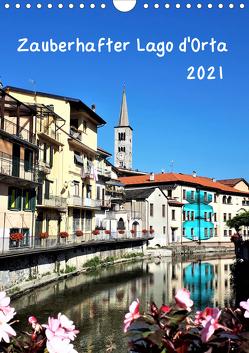 Zauberhafter Lago d'Orta (Wandkalender 2021 DIN A4 hoch) von Konkel,  Christine