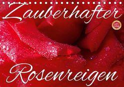 Zauberhafter Rosenreigen (Tischkalender 2019 DIN A5 quer) von Cross,  Martina