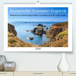 Zauberhafter Südwesten Englands (Premium, hochwertiger DIN A2 Wandkalender 2020, Kunstdruck in Hochglanz) von Pidde,  Andreas