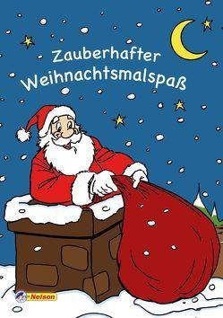 Zauberhafter Weihnachtsmalspaß